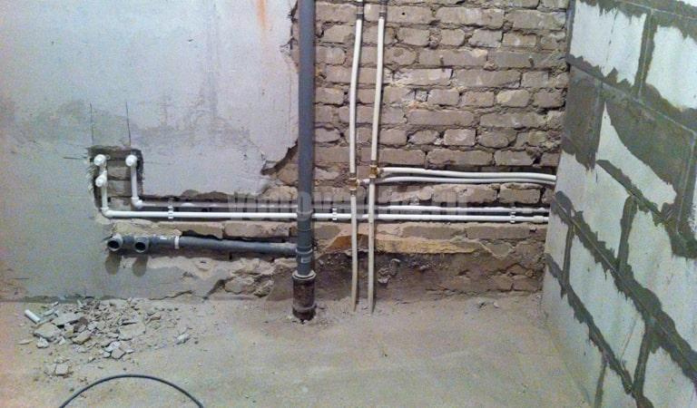 Замена сантехники в трехэтажке (10)