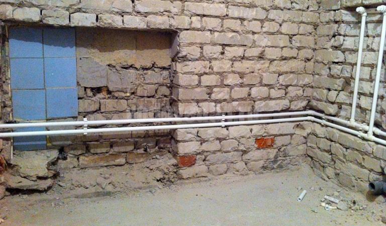 Замена сантехники в трехэтажке (8)
